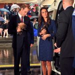 Our newest pups get the royal treatment #RoyalVisitNZ http://t.co/Daoa9CGJnB