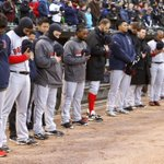 RT @RedSox: Thank you to the @whitesox for your moment of silence prior to tonights game. #BostonStrong http://t.co/iqKdrAV9uh
