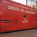 RT @PerthWildcats: Who will be at Forrest Place at 10am to celebrate with the Wildcats?! #RedArmy #NBLChampions http://t.co/7NW4QSA6by