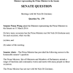 RT @latikambourke: PM Abbotts response to the Senate in March about meeting Nick Di Girolamo. http://t.co/2LUEL0qdJW