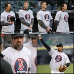 RT @SportsCenter: Why We Love Sports Today: White Sox show that they are Boston Strong. http://t.co/GIn4VgJztW