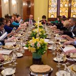 RT @WhiteHouse: #HappyPassover! President Obama and @FLOTUS host a Seder at the White House. http://t.co/xnY7LYOUeR