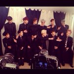 [PIC] 140416 Bbangms Instagram Update with EXO during interview http://t.co/XwqVfabkuT