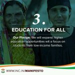 My Vote for education. My vote for educated Indian. #MyVoteForCongress http://t.co/73plVuoJcU