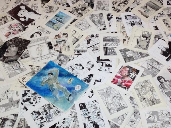 ついに情報解禁!!今夏、「土田世紀全原画展」開催します!!  http://t.co/2yisIpJhqj http://t.co/bekjsFgf5w