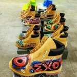 """@exoluzi: Exo personalized shoes for overdose mv wow omfg http://t.co/Zdtr1SvlNl"" asdfg"