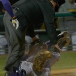 RT @DellengerAdv: Shot Of The Game (by Matthew Hinton): Andrew Stevenson slides into home in #LSUs 13-5 win over Southern Miss. http://t.co/RtUMKss8D2
