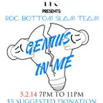 5.2.14 come out and support your local artists #HUA #roc http://t.co/Xcq8ZFde2d #lightbulbseverywhere #inovation3 http://t.co/vp7S6EQN9z
