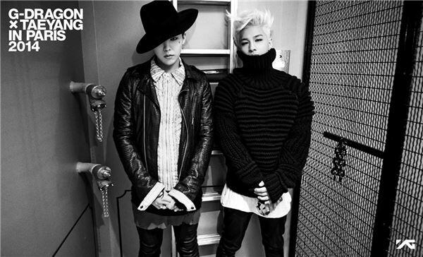 G-Dragon and Taeyang in Paris 2014 Preview Photo http://t.co/07KBMYrXnA