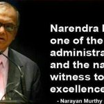 Dear Bengaluru, remember what Narayana Murthy, the founder of Infosys said about @narendramodi. Hence #Ananth4Namo. http://t.co/1I9IJrzbRq