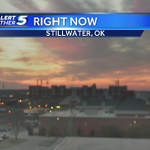 Stillwater, youre looking gorgeous this morning! #Sunrise #OKwx http://t.co/b1FyWLiIZz
