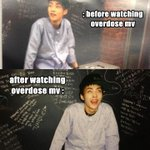 this is us If we watching overdose mv before and after : http://t.co/j1KRabIlil