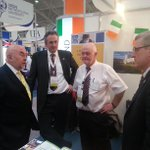 Minister Quinn visits the UCC stand at #IECHE in Riyadh @IECHESA @Education_Ire @UCC #Ireland http://t.co/AhINslqAe9