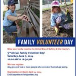 Cant wait for Family Volunteer Day sponsored by @RichProducts! Sign up today & bring the kids on June 7th! #Buffalo http://t.co/cWN01rvO44