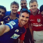 IPL captains #selfie http://t.co/eW4RREI0Xo