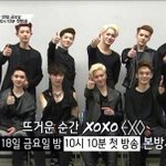 RT @EXOcastle: [PIC] 140416 Mnet Twitter Update: EXO for XOXO EXO which will be airing on 18th April http://t.co/kpgl1af3vr