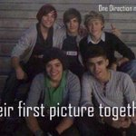 #FETUSONEDIRECTIONDAY youre not human when you dont cry for this the first picture of the boys t h e f i r s t http://t.co/hy7gpdU4nu