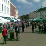 Hereford Street Market today. Enjoy live music, hot food, lots of sunshine, and plenty of bargains! http://t.co/iOPM0MJzjG