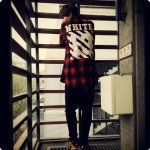 140416 KRIS Instagram Update chillin in my galaxy world. waiting for you. #offwhite #supreme #foamposite http://t.co/LP3ARyOfGq