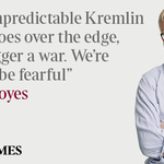 "RT @PaulGlenTaylor: ""@thetimes: Opinion: @rogerboyes on Vladimir Putin and the situation in Ukraine http://t.co/oMEL1ZdHq6 http://t.co/duWZRojIxI"""