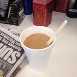 Made my own cup this morning, but you can get a hot cup all day for free today at Wawa! Happy 50th Wawa! http://t.co/s1N8a3mV0v
