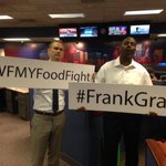 It starts today! An all in #wfmyfoodfight From Noon-6:30 team #FrankGrant is at Harris Teeter in Shops @ Friendly http://t.co/iQvbfRuEcp