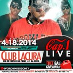 CAP 1 LIVE FRIDAY @ #CLUBLACURA http://t.co/EhOf4Qw8V7