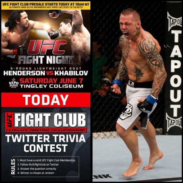 Question 1 of the day, FC! Who did @RossTheRealDeal Pearson defeat to become the season 9 #TUF Lightweight winner? http://t.co/tdtO071lee