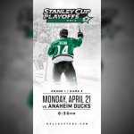 Want 4 @dallasstars playoff tickets? LIKE our FB post for a chance to win! #stars LIKE THIS: http://t.co/SEib8yZrE5 http://t.co/hfZ3jmmYHY