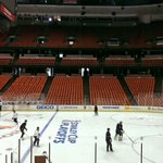 RT @icemancometh: The #NHLDucks are getting things ready this morning at Honda Center. http://t.co/fAzpPgWtD8