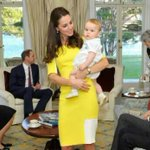 Great pic of Kate and George http://t.co/Ks1X8MYjJE
