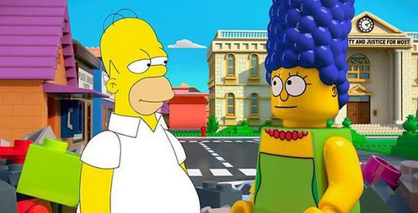 We can't decide whether the first image from The Simpsons' forthcoming #LEGO episode is amazing or terrifying: http://t.co/qY5zcL5gNP
