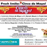 Hey #Philly! Join us as we celebrate #CincodeMayo by raising money for @FreshSmiles1. http://t.co/2DTiaTKl5N