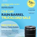 RT @cityofhamilton: The annual RAIN BARREL sale is coming on April 26! http://t.co/BIWchBVET1 #HamOnt http://t.co/P723PgAy8T