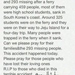 RT @kevhwangster: It just takes a few minutes to pray for them. This is just crazy#PrayForSouthKorea http://t.co/3tBChDmDkj