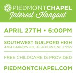 RT @PiedmontChapel: Want to find out more about Piedmont Chapel? Join us for our next Interest Hangout! http://t.co/rpLOnY1oKN http://t.co/4GwSYF0h8j