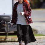 "Kristen on the set of ""American Ultra"" #1 http://t.co/74LomuORXq"