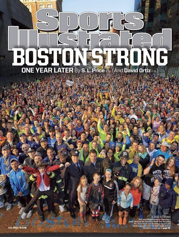 Boston Strong - the new Sports Illustrated cover was just revealed. http://t.co/ncch98FhO0