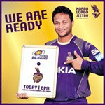 RT @KKRiders: All the best @mipaltan ! We are ready! Are you? #AllTheBestKKR #IPL7 #KorboLorboJeetbo http://t.co/1Q1k15jtPt