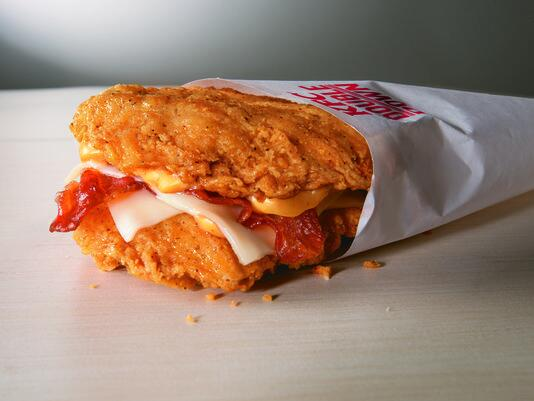 Oh, my - @kfc is bringing back the Double Down: http://t.co/yywY9XX6oT http://t.co/aOvQb7Npgc