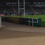 Been at @Exposure_Events #neexpo all day. Managed to get a glimpse at the Newcastle Falcons training too! http://t.co/L0KXYv4De4