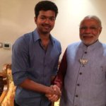 South is bowled over. Madhavan,Suresh Gopi,Rajini,Pawan Kalyan and Vijay with @narendramodi - http://t.co/hRwTQCPW0n