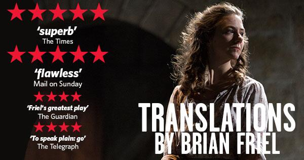 Catch the acclaimed production of Brian Friel's Translations from Tue 22 Apr until Sat 3 May: http://t.co/ndZSsEaG5h http://t.co/duAPqRQlu0