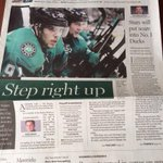 #Stars fans, make sure you grab a @dallasnews today. Lots of great preview content from @mikeheika and @timcowlishaw http://t.co/psNoPSmXKE
