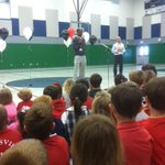 @Russdiculous_2 telling a packed gym at St. Marys Academy to #StayPositive. #L1C4 http://t.co/hBhJBhC2Vj