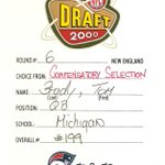 Happy 14th anniversary to the greatest draft card in #Patriots history http://t.co/HkJKwH3JQA