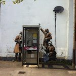 Brilliant! RT @CotswoldsInfo: #Banksy comes to #Cheltenham and the #cotswolds http://t.co/WvkMQfzFqo