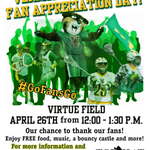 Join us for Fan Appreciation Day, April 26th - 12-1:30pm @ Virtue Field #VCats #GoFansGo http://t.co/lXJLr2xCso