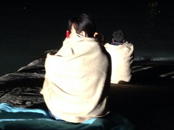 Relatives sit and wait by the water's edge hoping for the return of their loved ones. Almost 300 still missing. http://t.co/bIdfd8o6gN