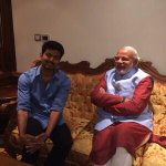 With noted film personality in the south, Vijay http://t.co/LKbyhQ197b